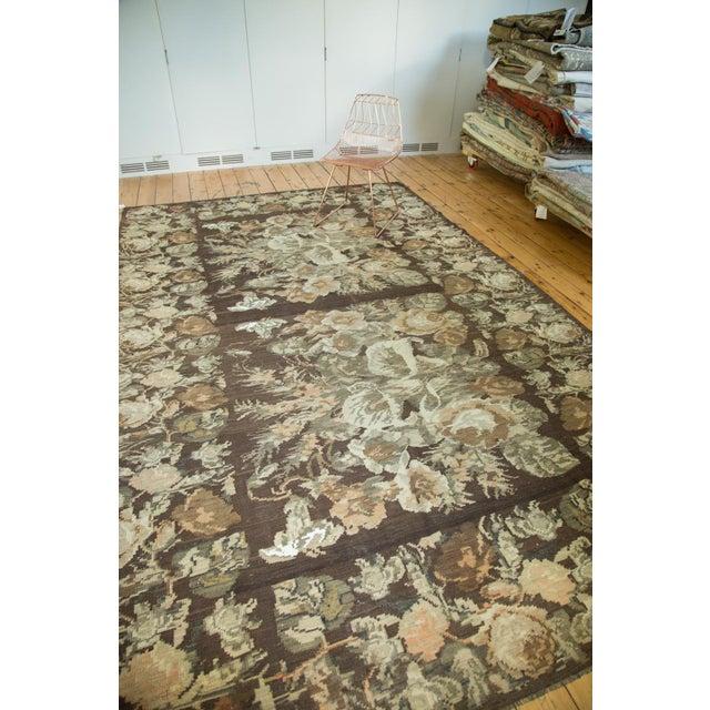 "Vintage Kilim Carpet - 7'8"" X 12'4"" - Image 6 of 8"
