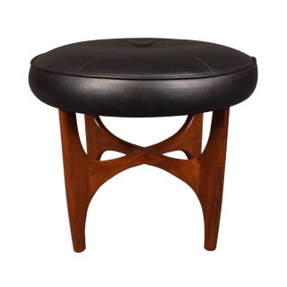 """Victor Wilkins for G Plan Mid-Century """"Astro"""" Footstool"""