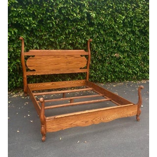 Vintage French Provincial Queen Bed Frame Preview