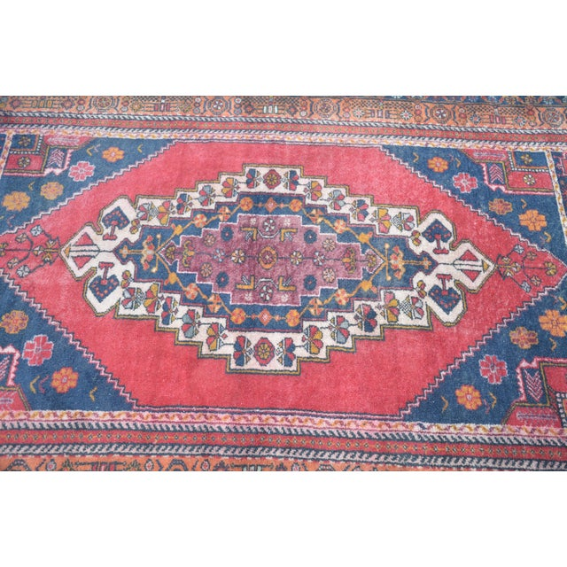 Vintage Anatolian Tribal Turkish Rug - 4′5″ × 7′9″ - Image 5 of 6