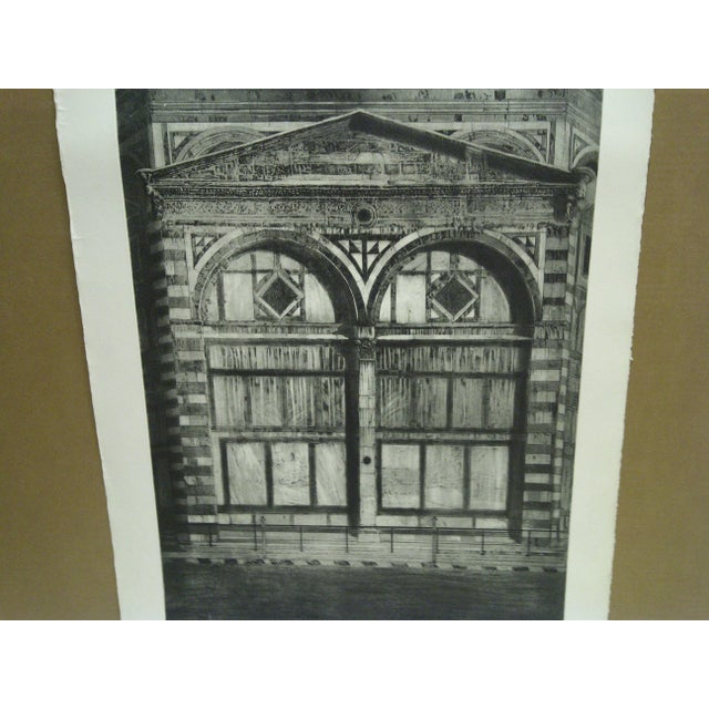 Americana Limited Edition Signed Print Il Battistero Ii Frances Lansery For Sale - Image 3 of 5