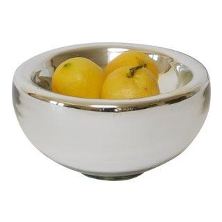 Vintage Mexican Mercury Glass Bowl