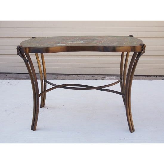 Asian Philip & Kelvin Laverne Table For Sale - Image 3 of 5