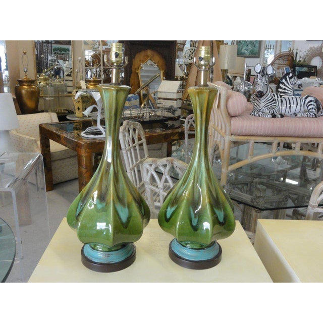 Mid-Century Modern Lamps - A Pair - Image 6 of 6