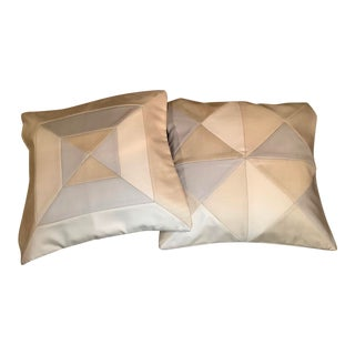 Holland & Sherry Pillow Covers - A Pair For Sale