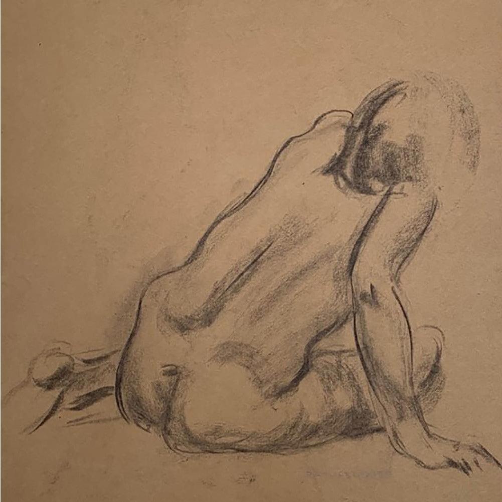 Angela Hudson Nude raphael soyer seated nude drawing