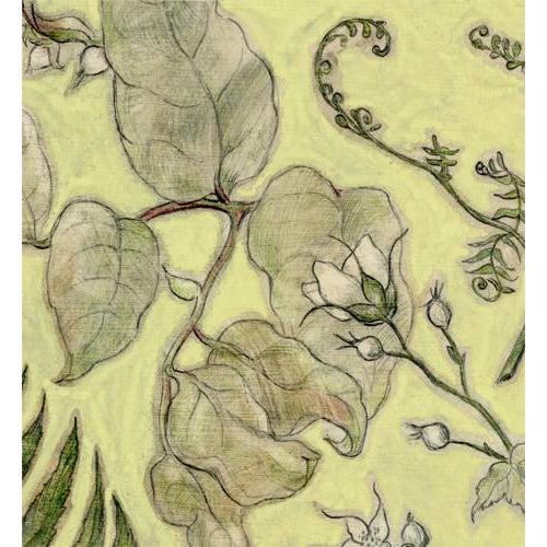 """Realism """"Northwest Botanical III"""" Mixed Media Original Painting For Sale - Image 3 of 6"""