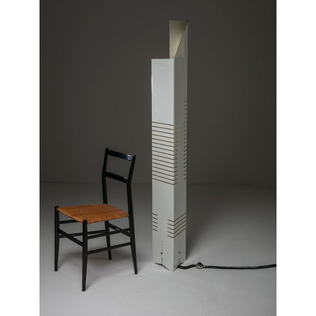 "Plastic ""Personaggi"" Floor Lamp by Carmellini and Tronconi For Sale - Image 7 of 8"