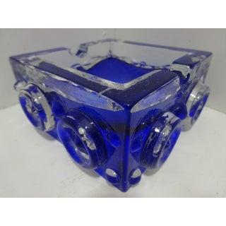 Mid-Century Smalandshyttan Glass Ashtray- Designed by Josef Schott Preview