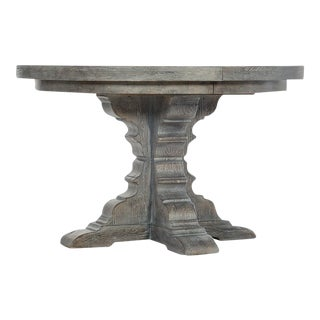 Traditional Hooker Furniture Round Dining Table For Sale