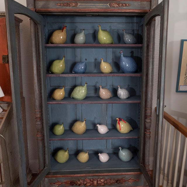French Painted Bibliotheque For Sale - Image 9 of 10