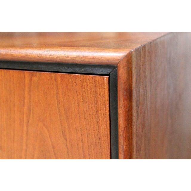 1950s Milo Baughman for Arch Gordon Walnut Four-Drawer Dresser - Image 10 of 10