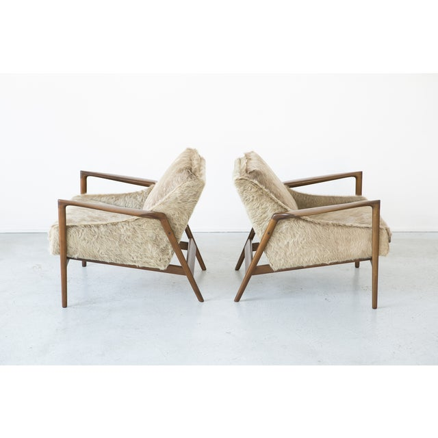Ib Kofod-Larsen Lounge Chairs - A Pair - Image 5 of 11