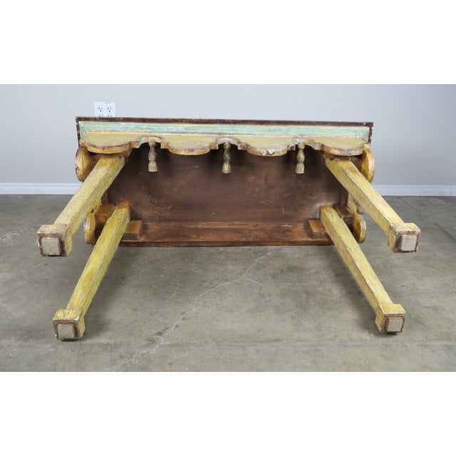 Painted Italian Console W/ Tassels For Sale - Image 10 of 11