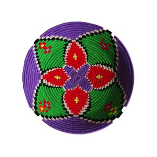 Hand Woven Moroccan Storage Bowl