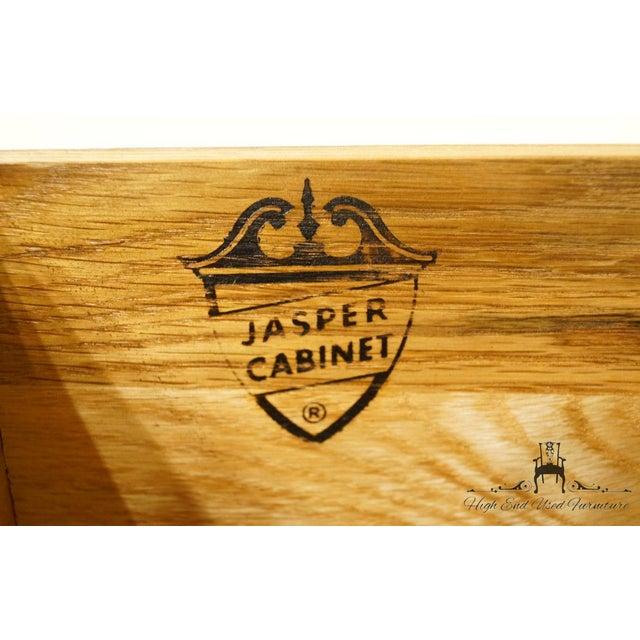 Late 20th Century Vintage Jasper Cabinet Secretary Desk For Sale - Image 12 of 13