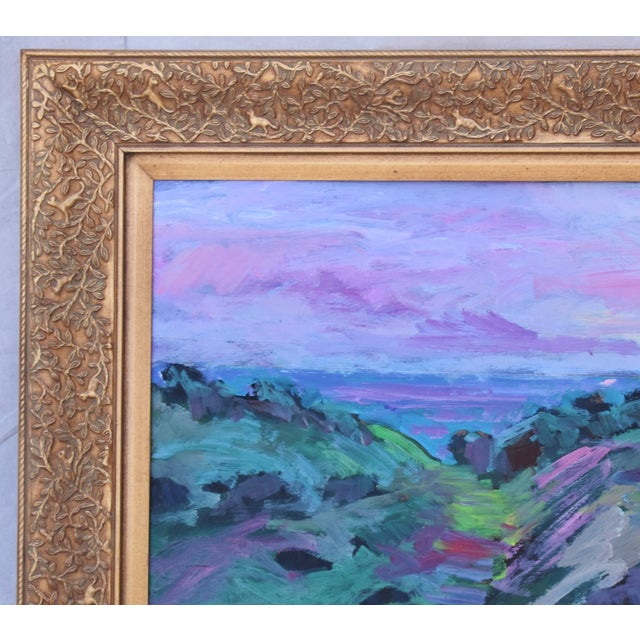 American Juan Guzman, Santa Barbara Landscape Seascape Oil Painting For Sale - Image 3 of 10
