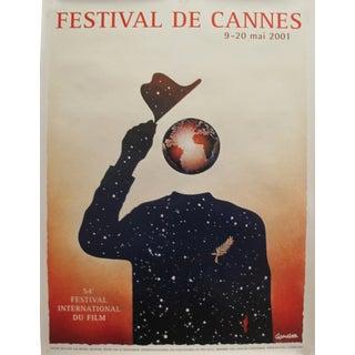 Original Cannes Film Festival Poster, 2001 For Sale
