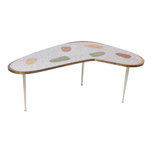 Vintage Boomerang Coffee Table by Berthold Müller For Sale