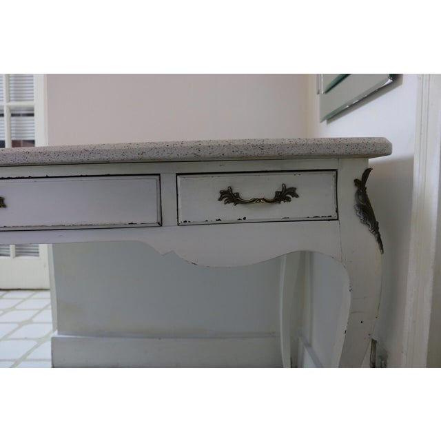 20th Century Victorian Style Writing Desk For Sale - Image 12 of 13