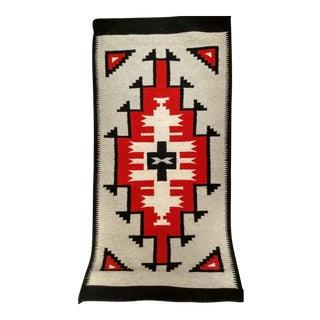 Vintage Navajo Tribal Carpet - 2′6″ × 5′1″ For Sale