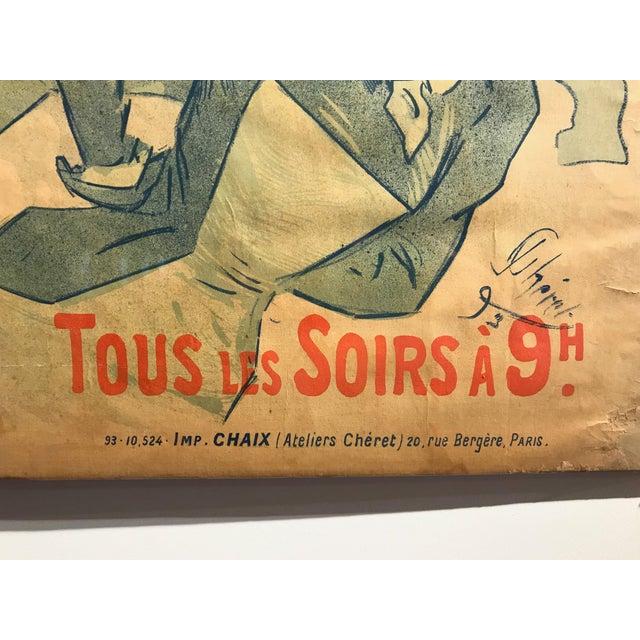 'La Bodinière' Théatre De La Tour Eiffel Original Art Nouveau Poster For Sale - Image 9 of 11