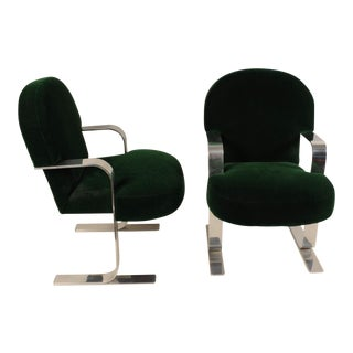 Mid-Century Modern Cantilevered Chairs For Sale