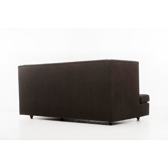 Milo Baughman Shelter Sofa and Ottomans For Sale - Image 9 of 13