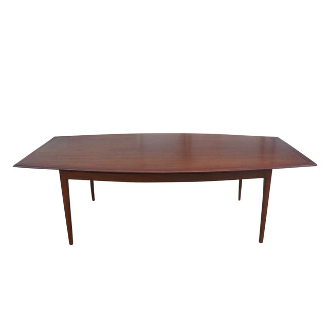 1331f3e50acc 1960s Vintage Florence Knoll Walnut Dining Table