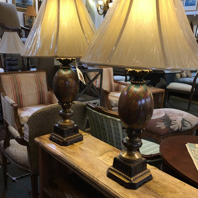 Kathy Ireland Table Lamps - A Pair - Image 3 of 8