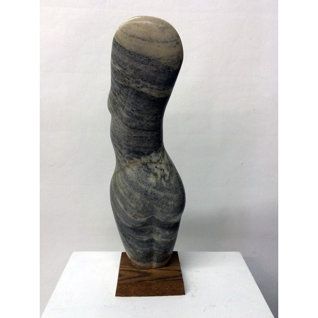Vintage Female Nude Marble Sculpture by John Cody - Image 5 of 7