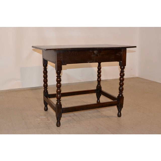 18th Century English Side Table For Sale - Image 9 of 10