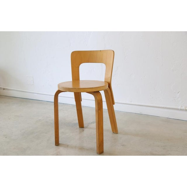 This Pre Loved Alvar Aalto Chair 65 Is A Classic Addition To Any Collection