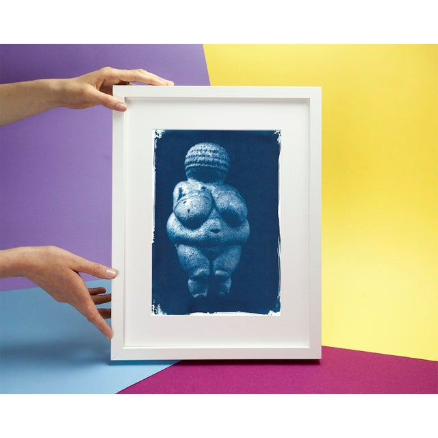 Limited series cyanotype print, handmade and printed with the sunlight ! WHAT YOU'LL GET? _________________________ This...