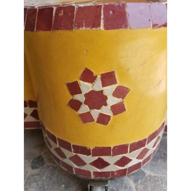 2010s Moroccan Tri-Color Mini Fountain For Sale - Image 5 of 6