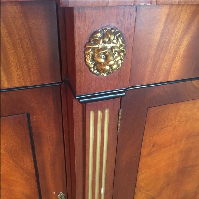 Flame Mahogany Side Cabinet - Image 6 of 10