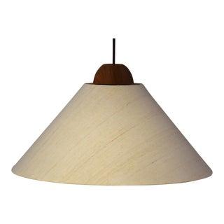 Domus Collection German Teak Light Fixture For Sale