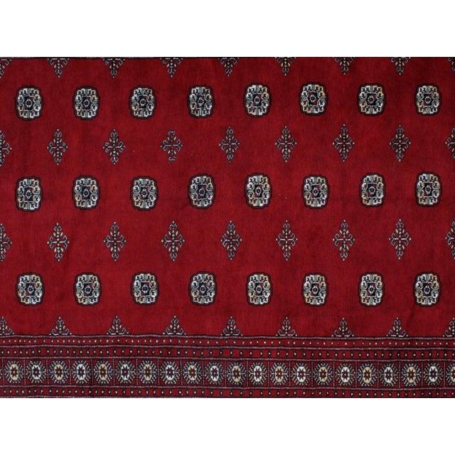 "Leon Banilivi Royal Bokara Carpet - 6'2"" X 9'8"" For Sale - Image 5 of 6"