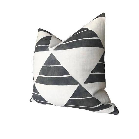 Add A new look by using pillow covers made of designer fabric! An unused pillow cover- made to order On the Front:...