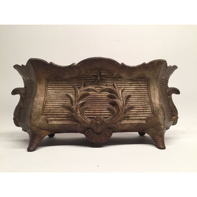 Antique Federal-Style Iron Planter - Image 3 of 6