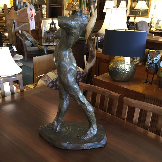 Bronze Female Sculpture by Cedric Wentworth - Image 6 of 8