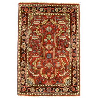 Pasargad DC Indo Mahal Rug - 4′1″ × 6′ For Sale