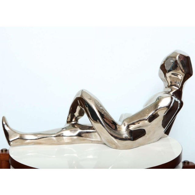 Mid-Century Modern 1970s Jaru Space Age Silver Sculpture For Sale - Image 3 of 8