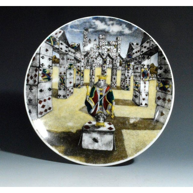 Piero Fornasetti Citta DI Carte City of Cards Plates in Complete Set of Twelve - Image 4 of 10