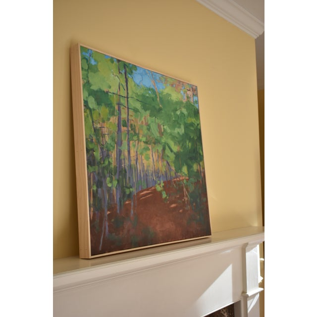 """Stephen Remick """"Late Afternoon"""" Contemporary Painting For Sale - Image 9 of 11"""