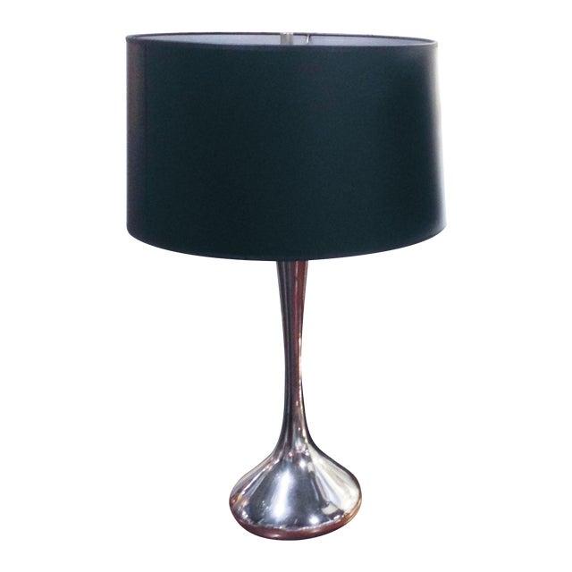 Mid-Century Silver Genie Laurel Lamp For Sale