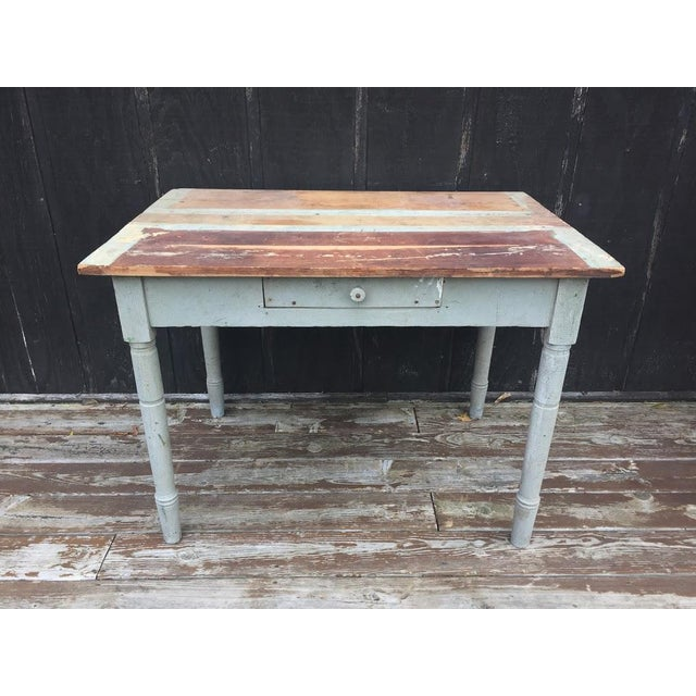 Distressed Farm Table For Sale - Image 9 of 9