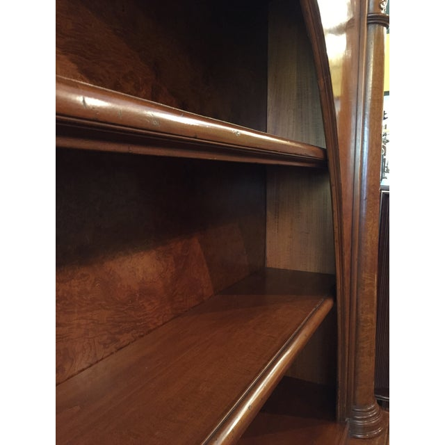 Late 19th Century Vintage ABC Carpet & Home Italian Wood Bookcase and Sideboard For Sale - Image 5 of 9