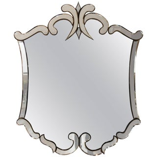 1940s Venetian Style Mirror For Sale