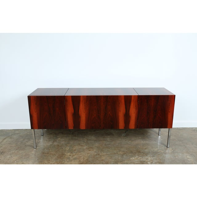 1970s Rosewood Record Cabinet - Image 3 of 11